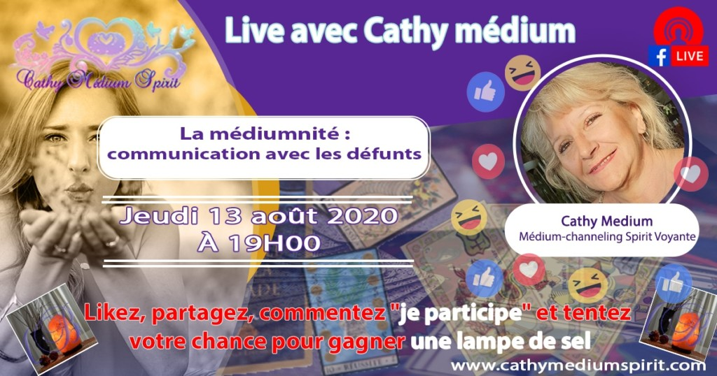 live cathy medium spirit