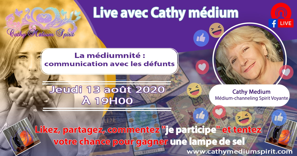 live cathy medium spirit