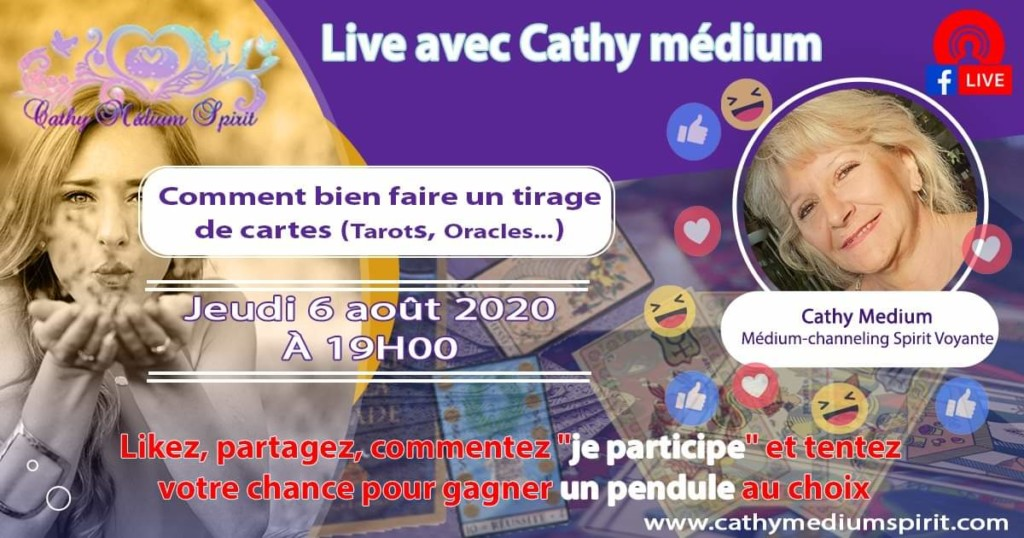 Live Facebook Cathy mediumspirit
